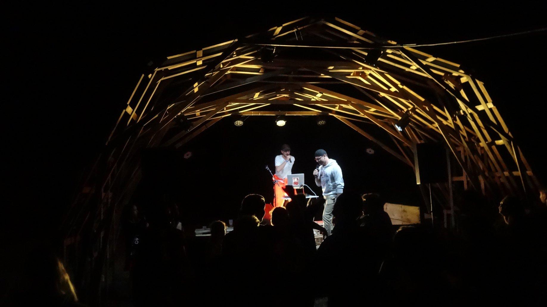 L'A.Paillettes structure concert